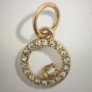 COACH COLLECTIBLE ETERNITY CIRCLE PAVE CHARM (NWT)